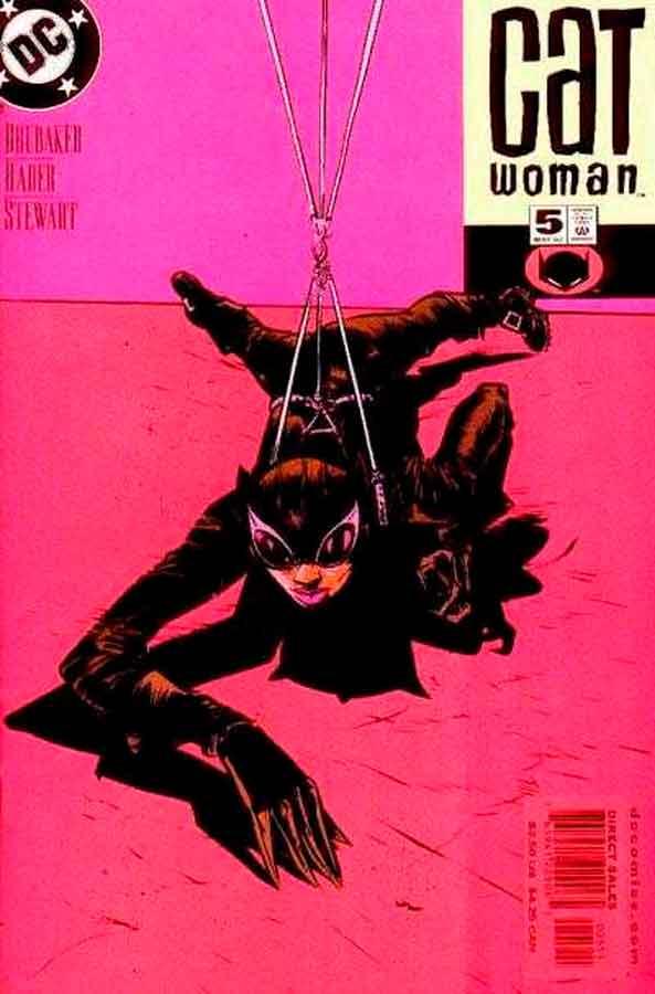 Женщина Кошка Том 3 #5, Catwoman #5 Vol 3, комиксы женщина кошка