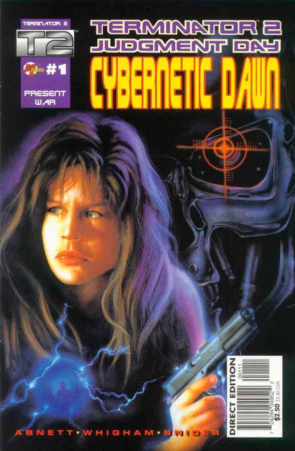 Terminator 2: Cybernetic Dawn #1, Терминатор 2: Кибернетический Рассвет #1, читать комиксы терминатор