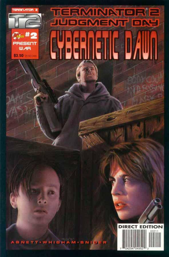 Terminator 2: Cybernetic Dawn #2, Терминатор 2: Кибернетический Рассвет #2, читать комиксы терминатор