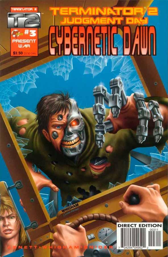 Terminator 2: Cybernetic Dawn #3, Терминатор 2: Кибернетический Рассвет #3, читать комиксы терминатор
