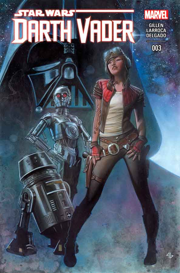 Звёздные войны: Дарт Вейдер Том 1 #3, Darth Vader (2015) #3, комиксы Звёздные войны