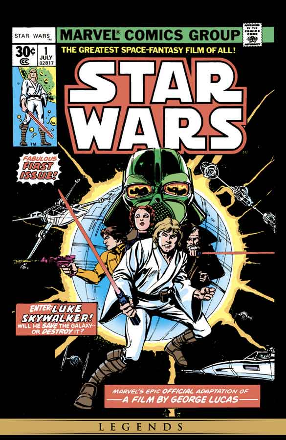 star wars #1 (1977), звёздные войны #1, читать комиксы онлайн звёздные войны