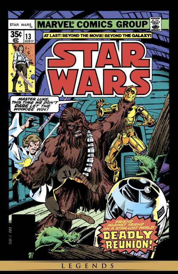 star wars #13 (1977), звёздные войны #13, читать комиксы онлайн звёздные войны
