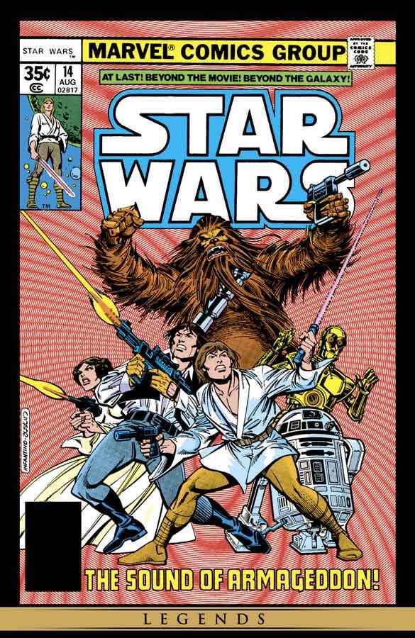 star wars #14 (1977), звёздные войны #14, читать комиксы онлайн звёздные войны