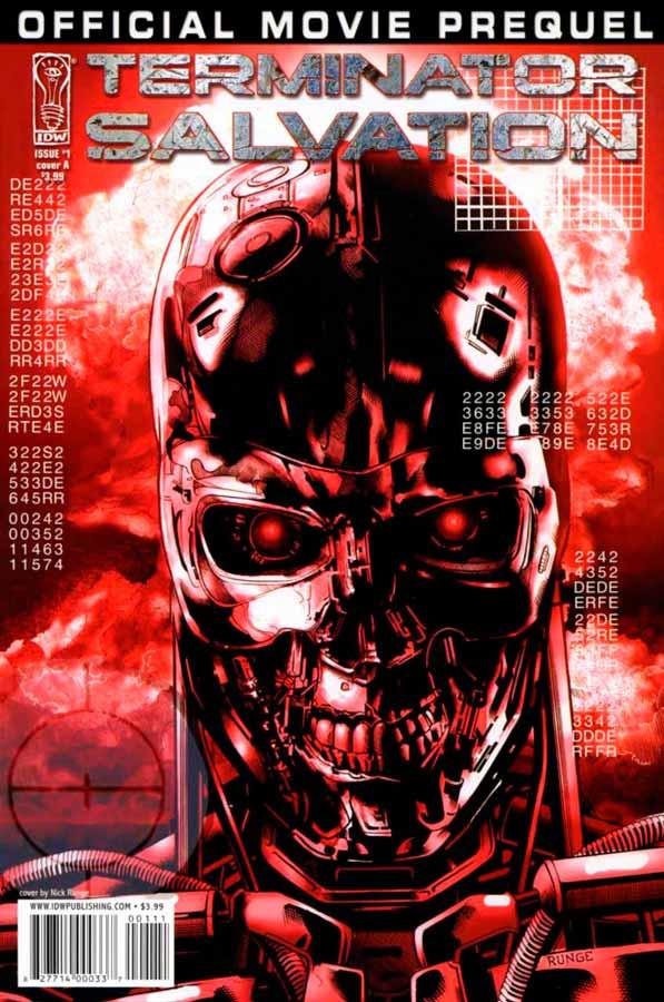 комиксы терминатор, Terminator: Salvation Movie Prequel #1, Терминатор: Да Придет Спаситель Приквел Фильма #1