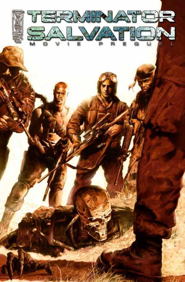 комиксы терминатор, Terminator: Salvation Movie Prequel #3, Терминатор: Да Придет Спаситель Приквел Фильма #3