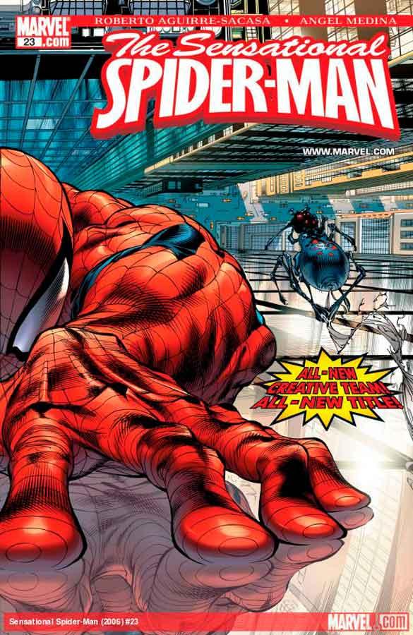 Сенсационный Человек-Паук #23 Том 2, Sensational Spider-Man (2006) #23, читать комиксы Человек-Паук