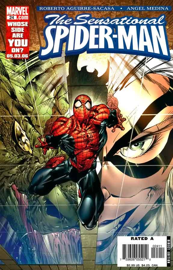 Сенсационный Человек-Паук #24 Том 2, Sensational Spider-Man (2006) #24, читать комиксы Человек-Паук