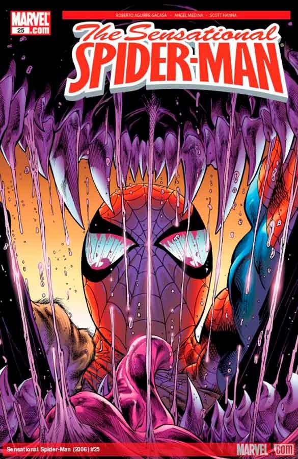 Сенсационный Человек-Паук #25 Том 2, Sensational Spider-Man (2006) #25, читать комиксы Человек-Паук