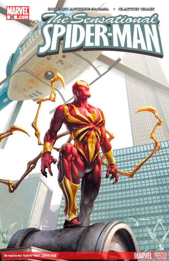Сенсационный Человек-Паук #26 Том 2, Sensational Spider-Man (2006) #26, читать комиксы Человек-Паук