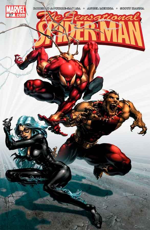 Сенсационный Человек-Паук #27 Том 2, Sensational Spider-Man (2006) #27, читать комиксы Человек-Паук