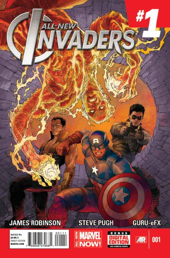 All-New Invaders #1, Совершенно новые захватчики #1, читать комиксы марвел