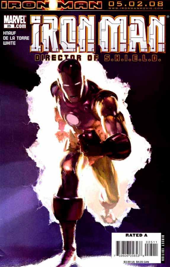 Железный Человек Том 4 #25, Iron Man #25 Vol 4, читать комиксы про Железного Человека