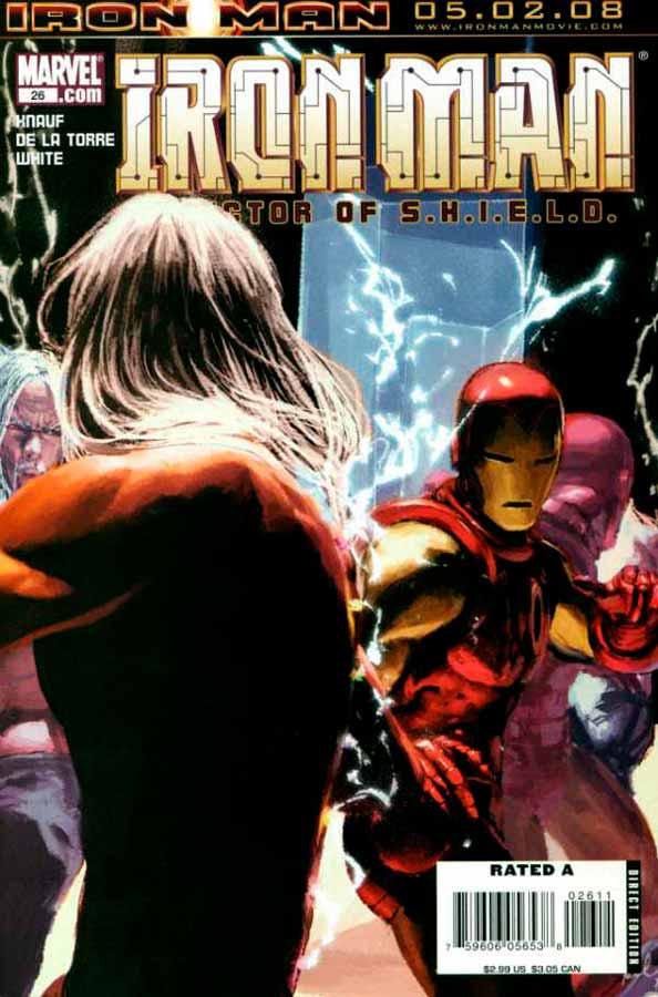 Железный Человек Том 4 #26, Iron Man #26 Vol 4, читать комиксы про Железного Человека