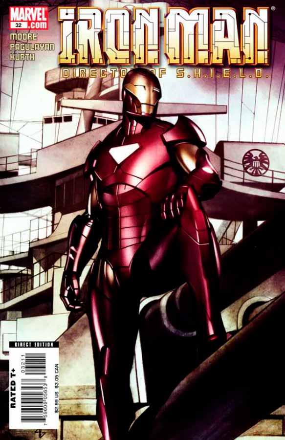 Железный Человек Том 4 #32, Iron Man #32 Vol 4, читать комиксы про Железного Человека