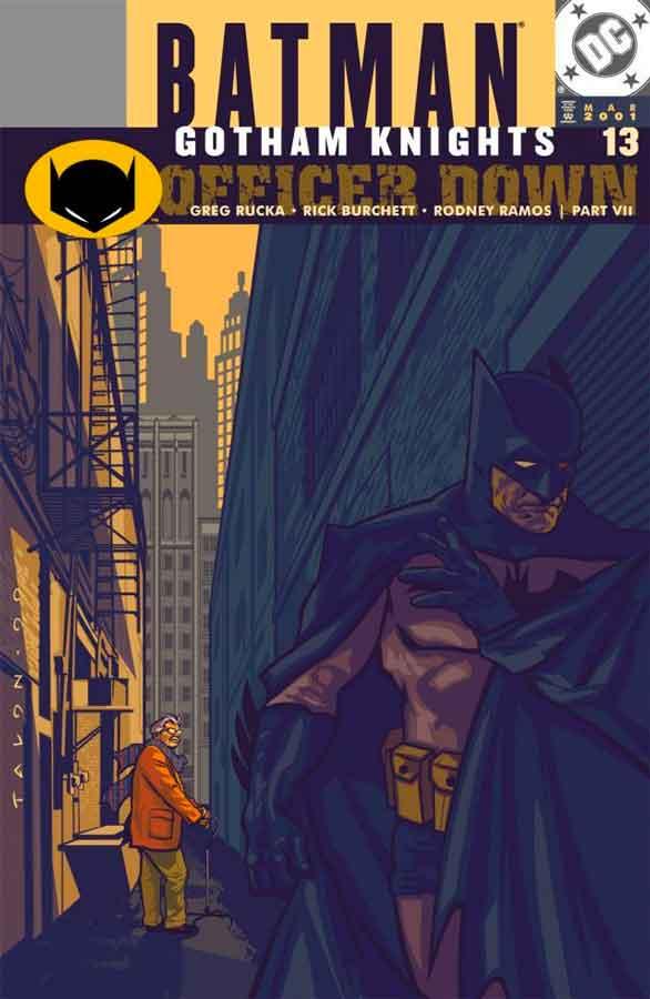 Batman Gotham Knights #13, Бэтмен Рыцари Готэма №13, читать комиксы онлайн бэтмен