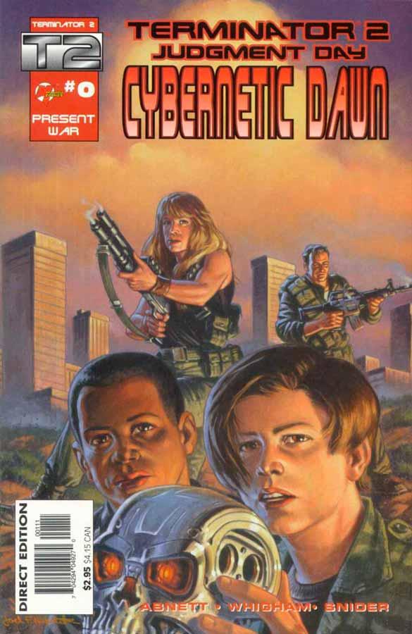Terminator 2: Cybernetic Dawn #0, Терминатор 2: Кибернетический Рассвет #0, читать комиксы терминатор