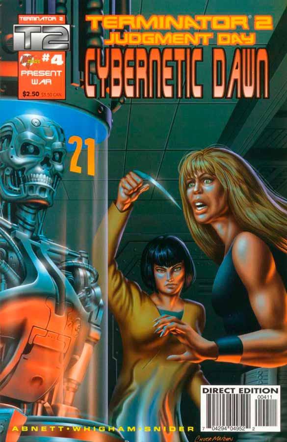 Terminator 2: Cybernetic Dawn #4, Терминатор 2: Кибернетический Рассвет #4, читать комиксы терминатор