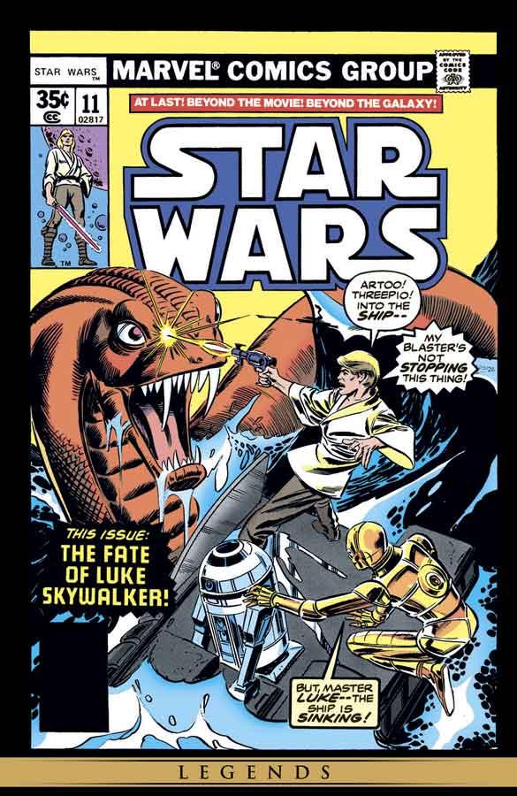 star wars #11 (1977), звёздные войны #11, читать комиксы онлайн звёздные войны