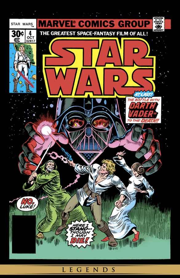 star wars #4 (1977), звёздные войны #4, читать комиксы онлайн звёздные войны