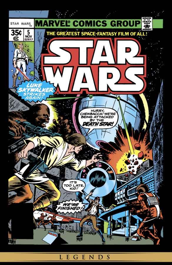 star wars #5 (1977), звёздные войны #5, читать комиксы онлайн звёздные войны