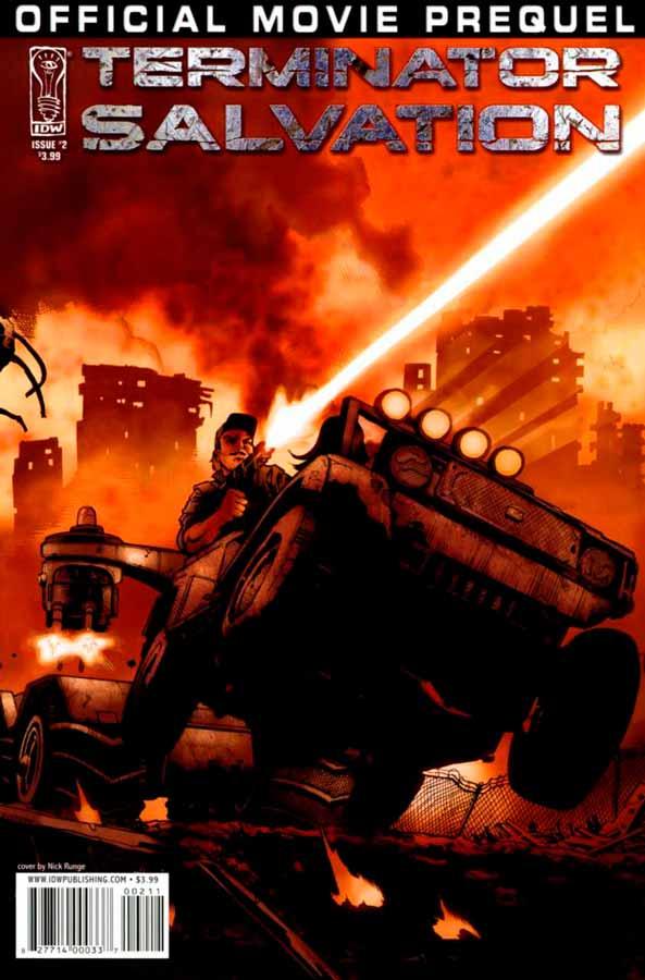 комиксы терминатор, Terminator: Salvation Movie Prequel #2, Терминатор: Да Придет Спаситель Приквел Фильма #2