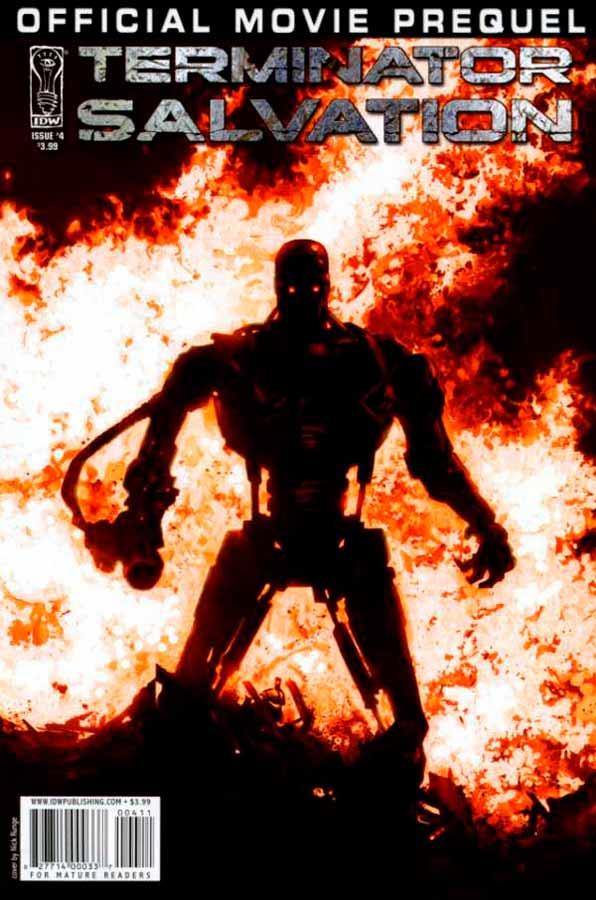 комиксы терминатор, Terminator: Salvation Movie Prequel #4, Терминатор: Да Придет Спаситель Приквел Фильма #4
