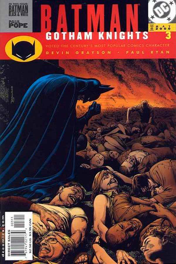 Batman Gotham Knights #3, Бэтмен Рыцари Готэма №3, читать комиксы онлайн бэтмен