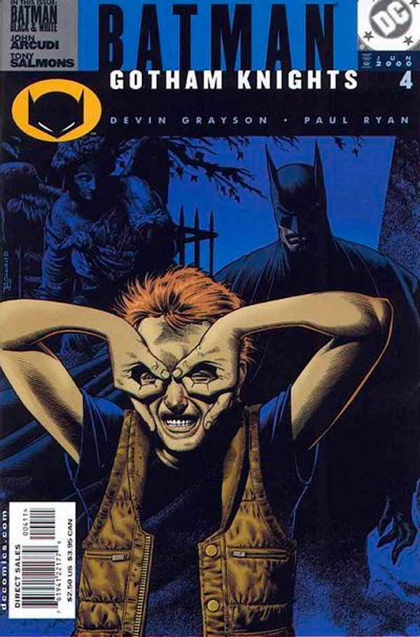 Batman Gotham Knights #4, Бэтмен Рыцари Готэма №4, читать комиксы онлайн бэтмен