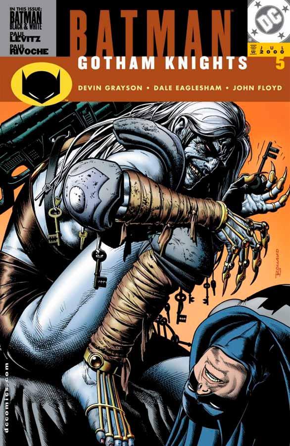 Batman Gotham Knights #5, Бэтмен Рыцари Готэма №5, читать комиксы онлайн бэтмен
