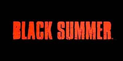 black summer logo, комикс черное лето