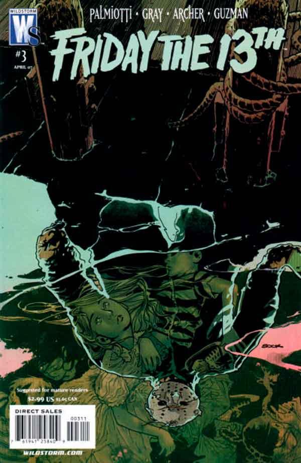 Friday The 13th #03, комикс Пятница 13-е читать онлайн
