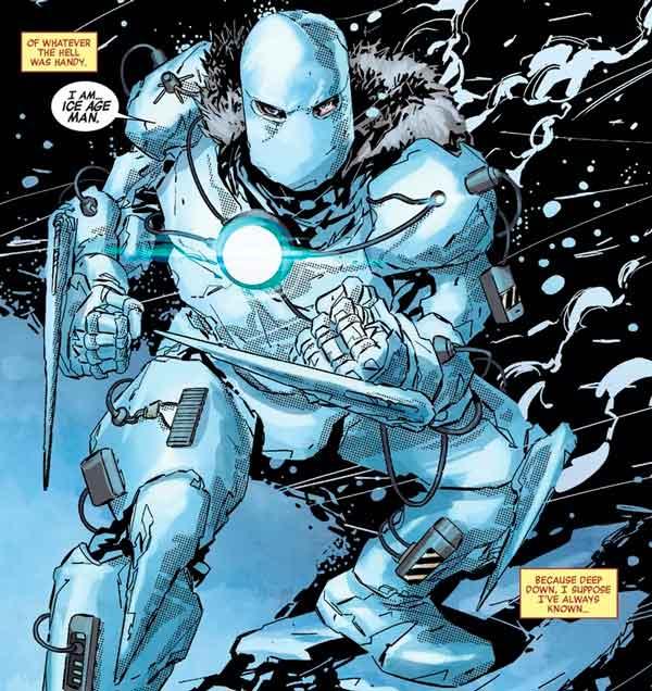 Доисторическая броня Железного Человека, комиксы Iron Man, новая броня Тони Старка