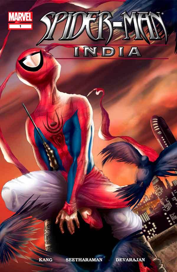 Spider-Man India #1, Человек Паук Индия #1, комиксы про Человека Паука читать онлайн