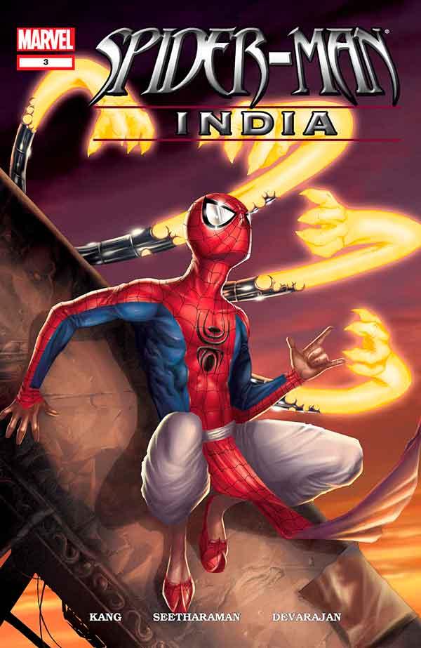 Spider-Man India #3, Человек Паук Индия #3, комиксы про Человека Паука читать онлайн
