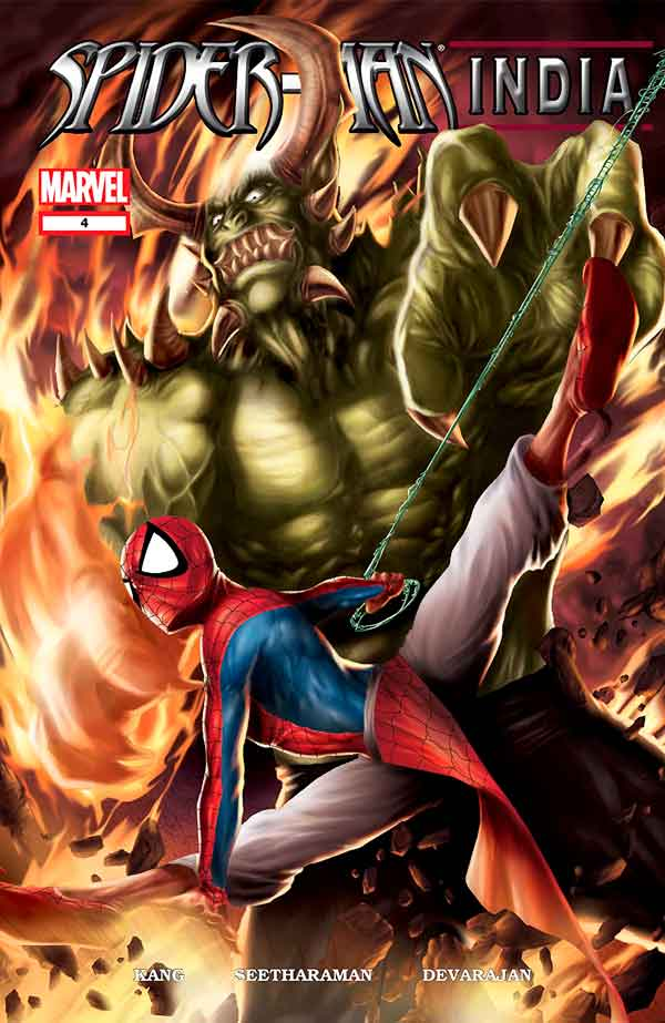 Spider-Man India #4, Человек Паук Индия #4, комиксы про Человека Паука читать онлайн