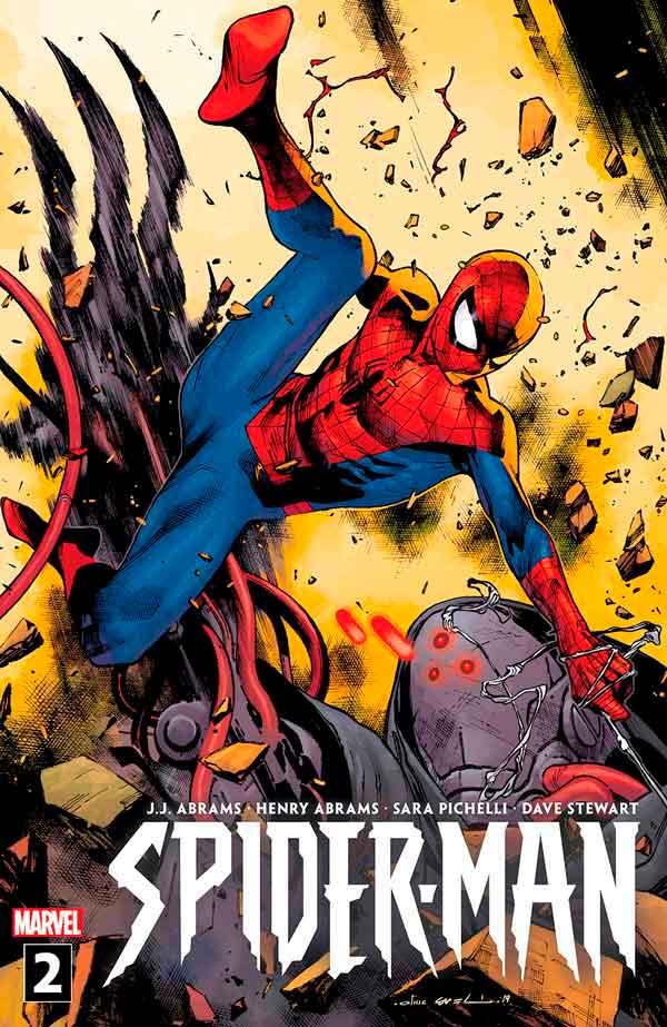 Spider-Man #2 (2019) Джей Джей Абрамс, Вариант обложки. Человек Паук Том 3 2019