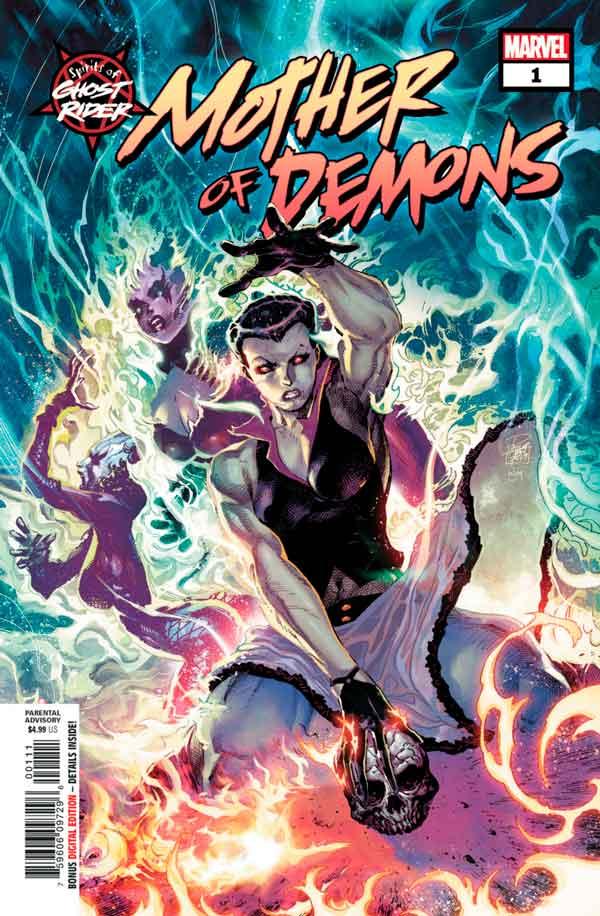 Spirits of Ghost Rider: Mother of Demons #1 / Духи Призрачного Гонщика: Мать Демонов (2020) #1 скачать/читать онлайн