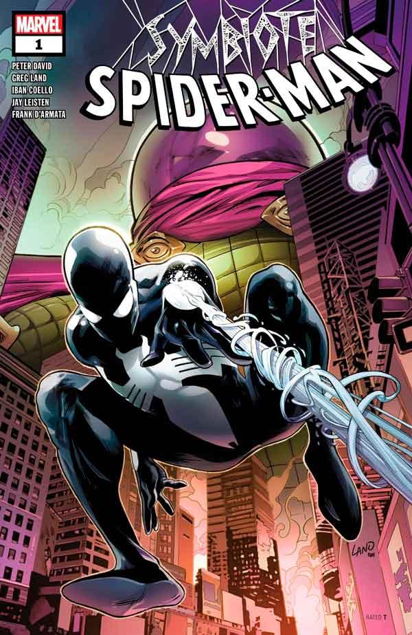 Symbiote Spider-Man #1 комиксы онлайн, Человек-Паук Симбиот Том 1 комиксы онлайн