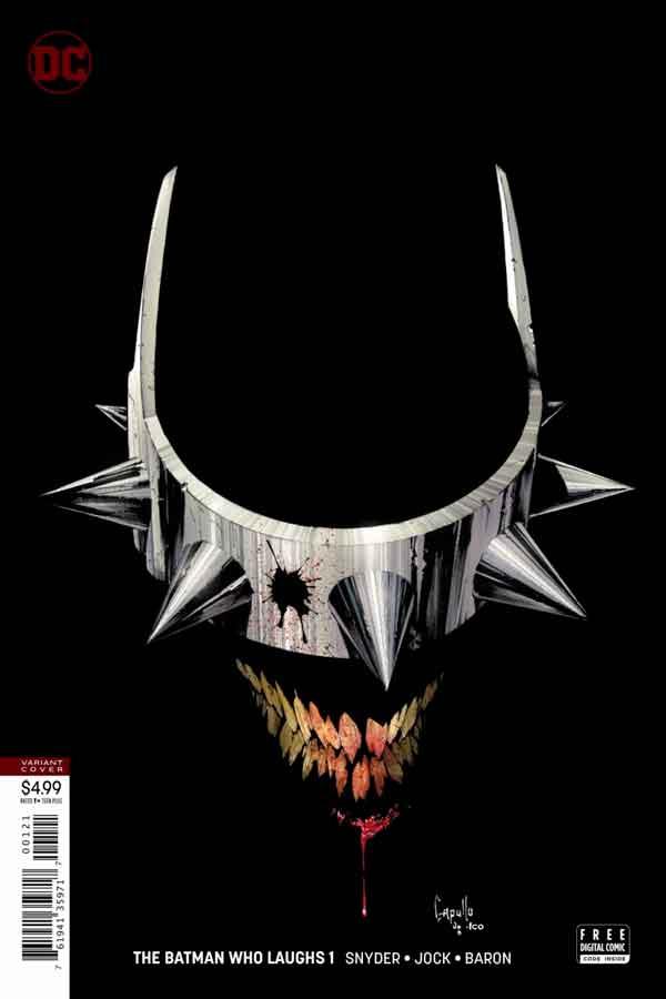 Читать комиксы Бэтмен, который смеется #1 онлай, комиксы Бэтмен, альтернативная обложка