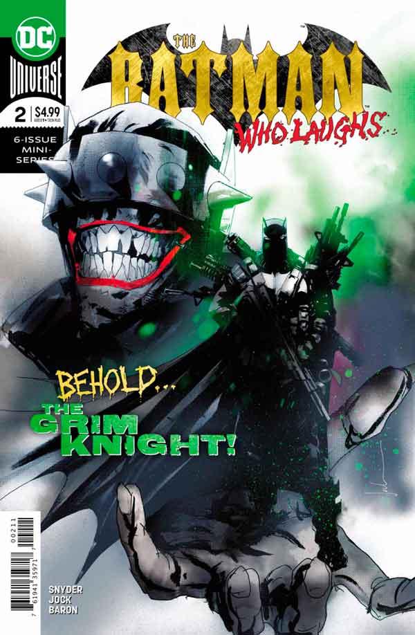 Читать комиксы Бэтмен, который смеется #2 онлай, комиксы Бэтмен