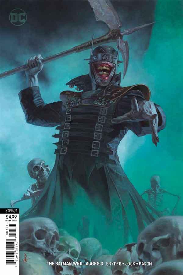 Читать комиксы Бэтмен, который смеется #3 онлай, комиксы Бэтмен