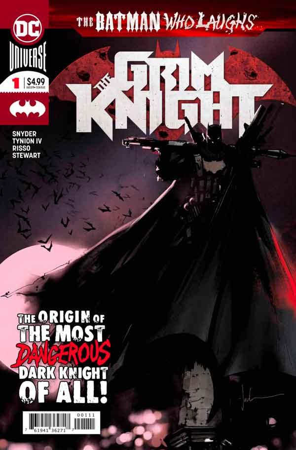 Бэтмен который смеется: Безжалостный Рыцарь #1, The Batman Who Laughs: The Grim Knight #1