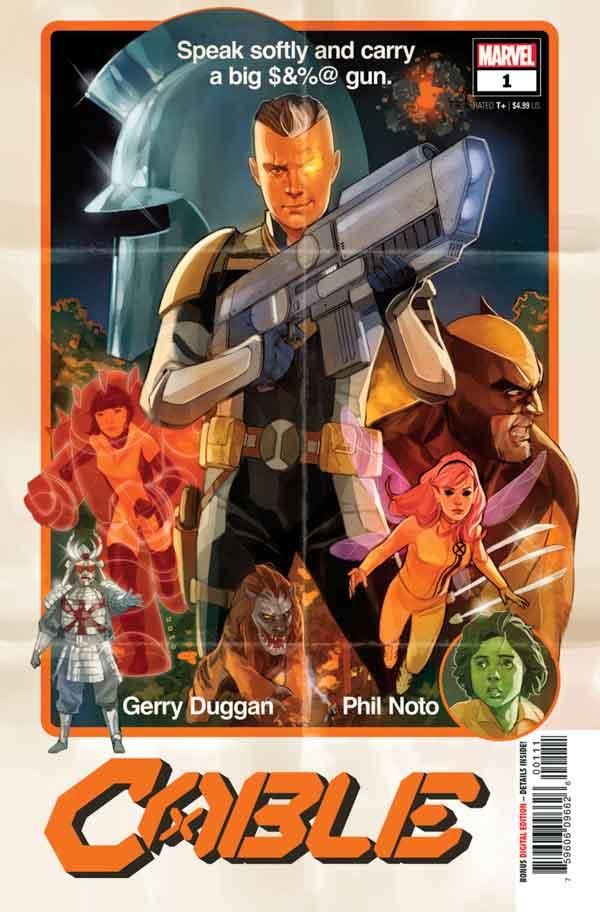 Cable Vol 4 #1 Кейбл Том 4 #1 скачать/читать онлайн