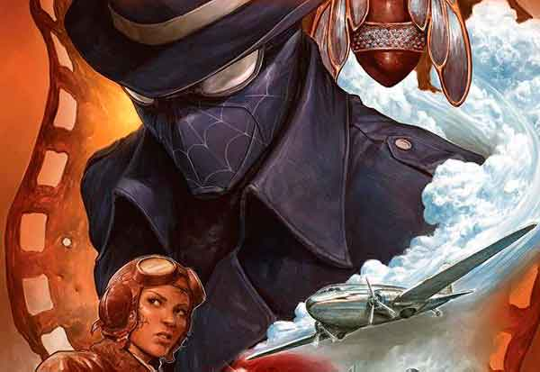 Spider-Man Noir #1 2020, Человек Паук Нуар #1 2020, комиксы про Человека Паука