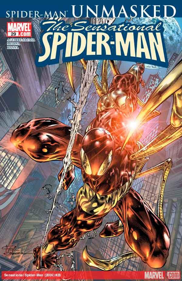 Сенсационный Человек-Паук #29 Том 2, Sensational Spider-Man (2006) #29, читать комиксы Человек-Паук