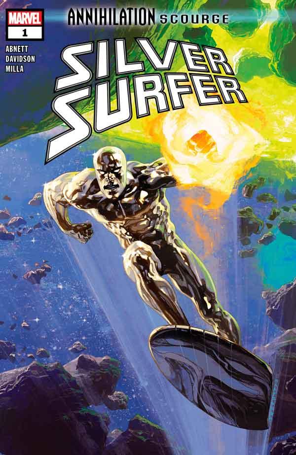 Annihilation - Scourge: Silver Surfer #1 скачать читать онлайн