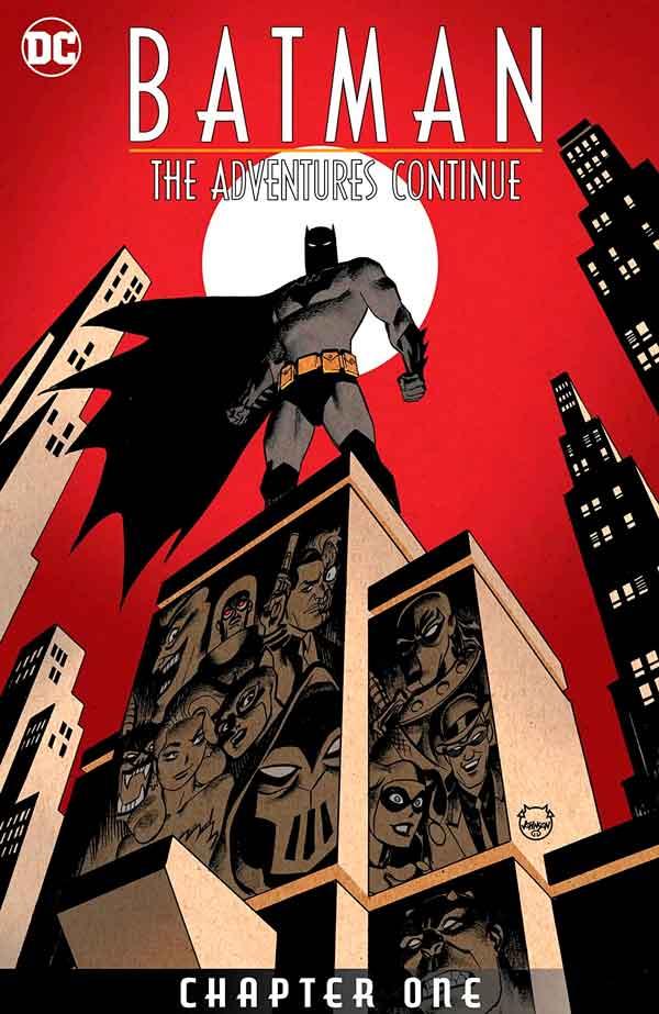 Batman: The Adventures Continue Vol 1 #1 Бэтмен Приключения Продолжаются Том 1 #1 читать скачать комиксы онлайн