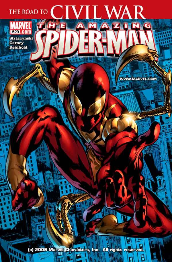 Amazing Spider-Man Vol 1 #529 Удивительный Человек Паук Том 1 #529 читать скачать комиксы онлайн