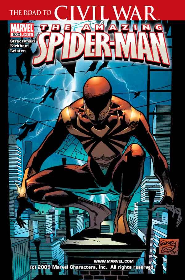Amazing Spider-Man Vol 1 #530 Удивительный Человек Паук Том 1 #530 читать скачать комиксы онлайн